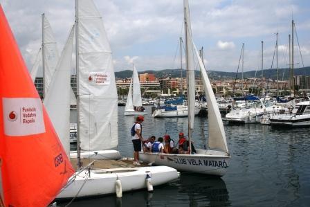 Fes-te a la mar 2012 - Sailability Catalunya - Fundación Vodafone España - Escola Vela Mataró