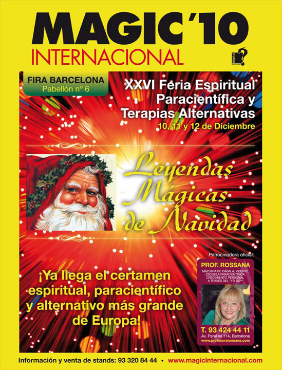Cartel de Magic Internacional 2010 Especial Navidad