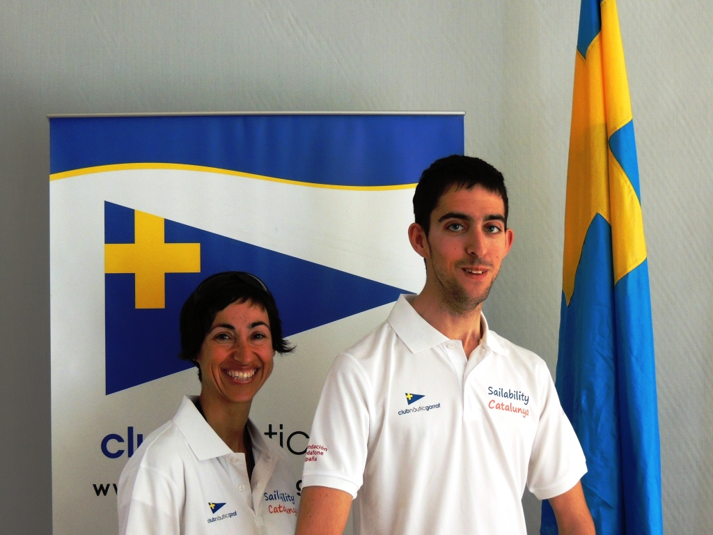 Sailability Catalunya a Regata La Petrolera 2014 - Eva Piulats i Eugeni Regi